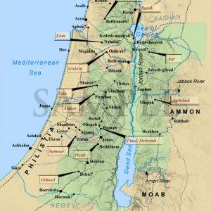 judges-israel-map
