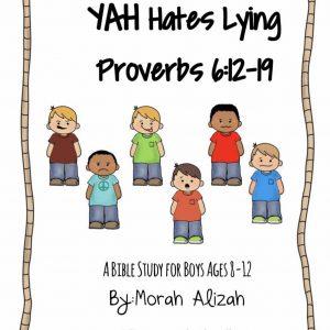 YAH Hates Lying~MorahSheli~IMG