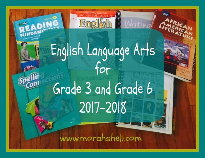 English Language Arts 2017-2018