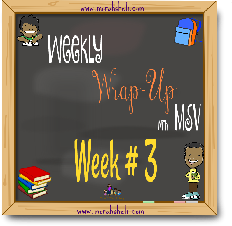 MSV Weekly Wrap Up #3 ~ 2018-2019